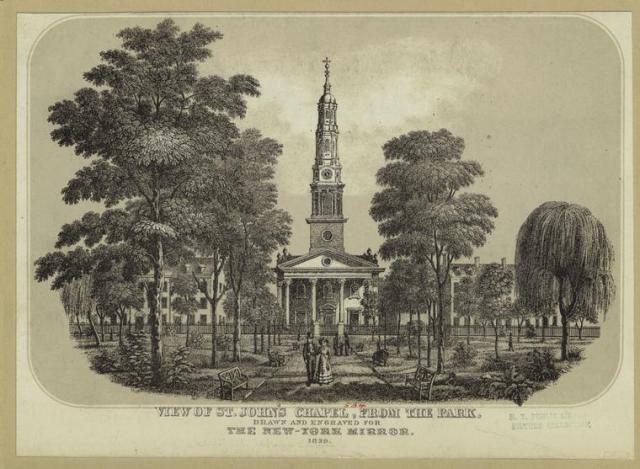 St John's Chapel New York City