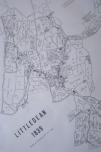 Map of Littledean 1839