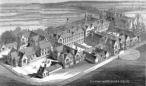 Western Road Infirmary about 1850