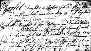 Prentice John born 1741