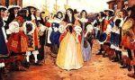 Arrival of filles du roi